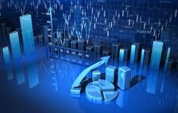 Business graph, diagram, chart Stock Photos