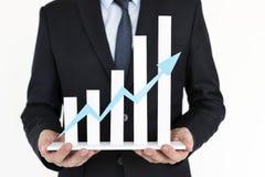 Business Graph Growth Success Development Concept Stock Images