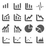 Business Graph Icon EPS10 Vector stock photo