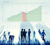 Business Graph Measurements Data Presentation Concept Stock Photos