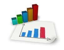 Statistics Royalty Free Stock Images