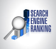Business graph. search engine ranking search. Stock Photos