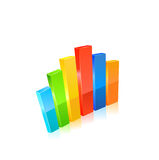 Business graph. Vector Stock Photography