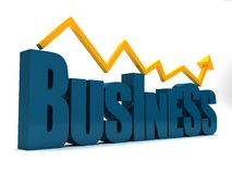 Business graphic Stock Image