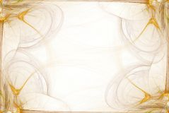 Business Graphic  Yellow Border. Ultra High Resolution Artwork. Very highly detailed and beautiful - Can be used as a background, Backdrop, Border, Buisness Royalty Free Stock Image