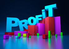 Business graphics Royalty Free Stock Image