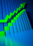 Business Graphics And Forex Indicators Stock Photos