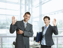 Business greating Royalty Free Stock Photography