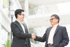Business greeting Stock Photography