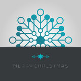 Business greeting christmas card. Stock Images