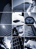 Business Grid - Time is money Royalty Free Stock Photos