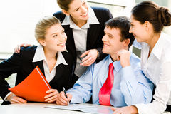 Business group Royalty Free Stock Photography