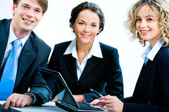 Business group Royalty Free Stock Image