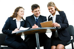 Business group Royalty Free Stock Photos