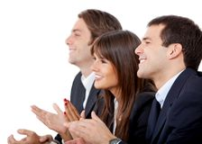 Business group applauding Stock Image
