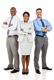 Business group arms crossed Stock Photo