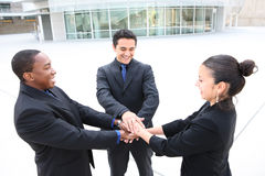 Business Group Celebrating a Success Stock Photos