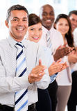 Business group celebrating their success Royalty Free Stock Image