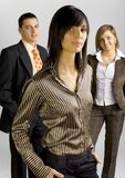 Business Group with Female Leader stock images
