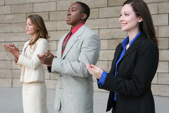 Business Group (Focus on Man) Royalty Free Stock Photography