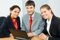 Business group`gbvf Stock Image