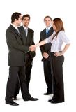 Business group handshake Stock Photography