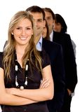 Business group isolated Royalty Free Stock Photos
