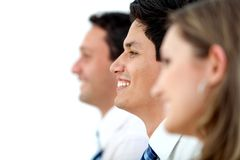 Business group isolated Royalty Free Stock Photography