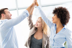 Business group joining hands Royalty Free Stock Photos