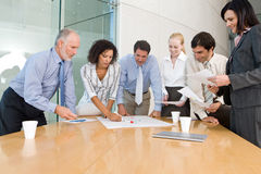 Business group meeting Royalty Free Stock Images