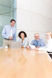 Business group meeting Stock Photos