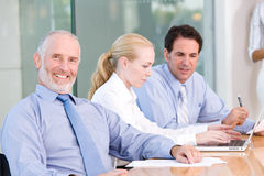 Business group meeting Stock Image