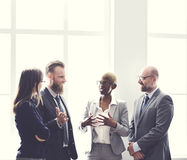 Business Group Meeting Discussion Strategy Working Concept.  Royalty Free Stock Photo