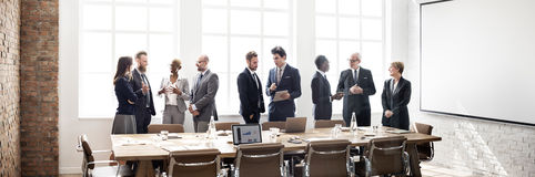 Business Group Meeting Discussion Strategy Working Concept.  stock images