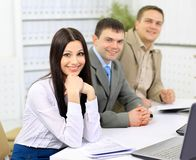 Business Group Meeting Portrait Royalty Free Stock Photography