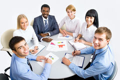 Business group meeting portrait Stock Photography