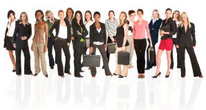Free Business Group Of Woman Stock Photography - 2353892