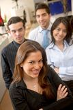 Business group in an office Royalty Free Stock Photography