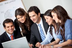 Business group at the office Royalty Free Stock Images