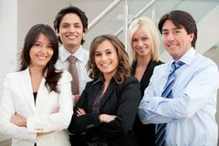 Business group at the office Royalty Free Stock Image