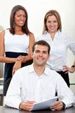 Business group at the office Stock Image