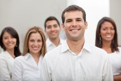 Business group at the office Stock Photos