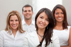 Business group at the office Royalty Free Stock Photography