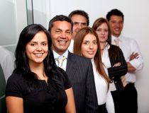 Business group at the office Stock Images