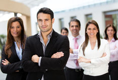 Business group at the office Stock Photography
