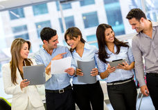 Business group at the office Royalty Free Stock Photo