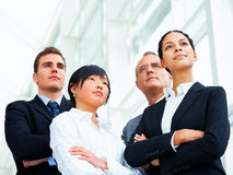 Business group portrait. Portrait of a diverse business group. Happy and successful Stock Photo