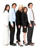 Business group in a row Stock Images