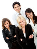 Business group smiling Royalty Free Stock Photo