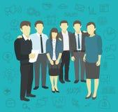 Business group startup company partnership Royalty Free Stock Photo